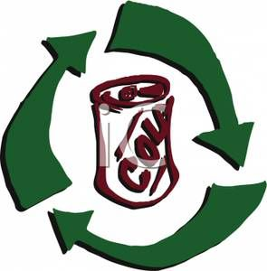 can recycling clip art the recycling arrows around a can of soda rh pinterest com recycling clipart for preschooler recycling clip art white and black