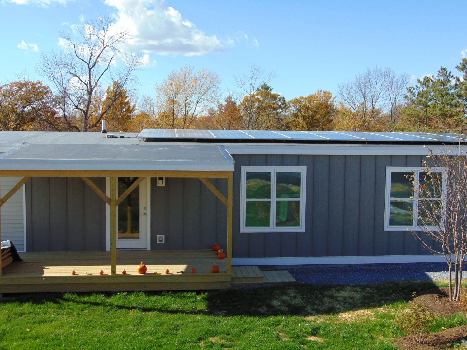 Vermont Affordable Housing Development Sets New Standard For Resilient Zero Energy Homes Affordable Housing Sustainable Design Outdoor Structures