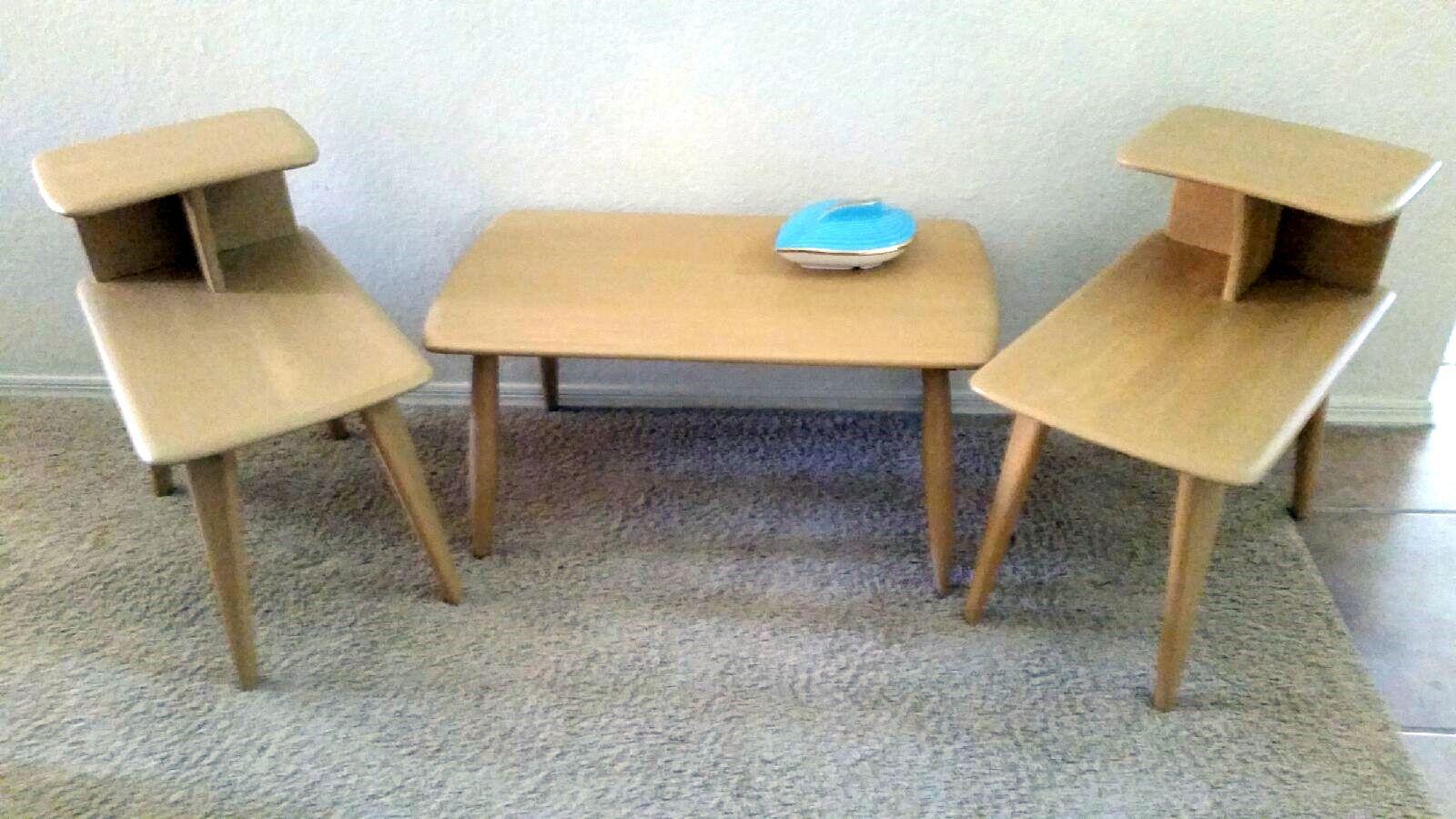 Heywood Wakefield style table set