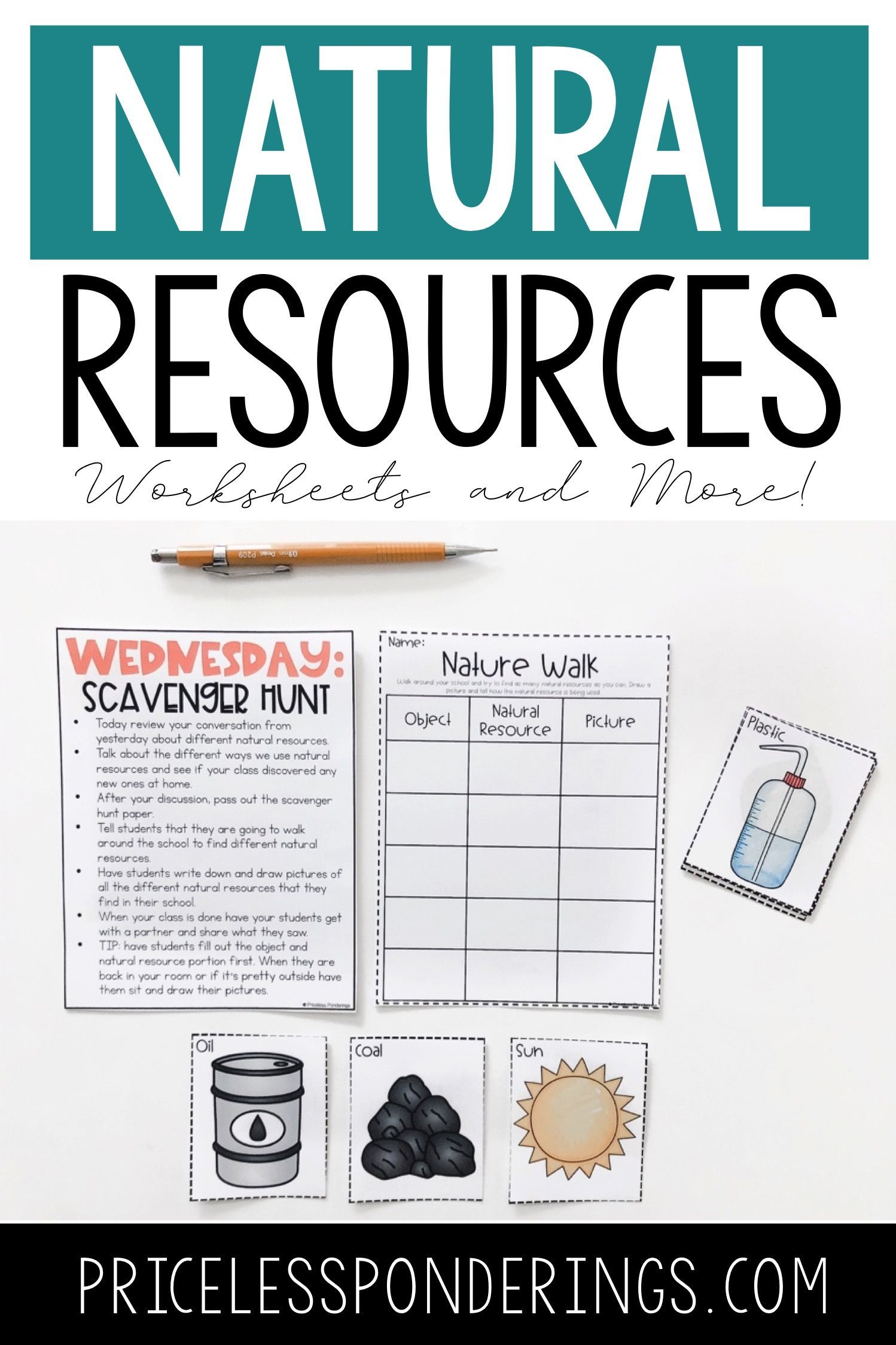 Natural Resources Worksheets And Activities In With