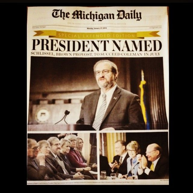 Today's historic issue of The Daily looks fantastic. Pick up a copy to read more about our new president! #readthedaily