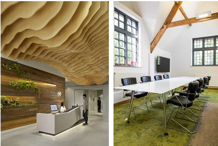 Biophilic design can indirectly or symbolically reference ...