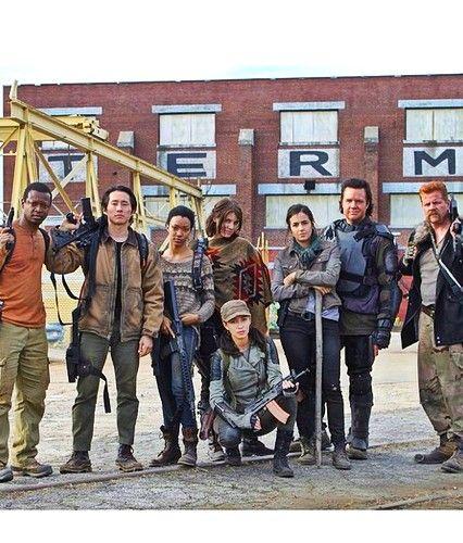 TWD - season 5 main cast | Walkers | The walking dead
