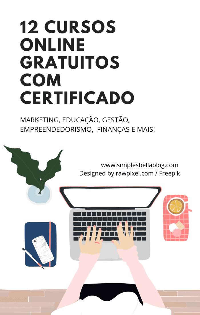 12 cursos online gratuitos com certificado: Market...