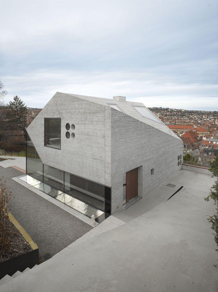 House 36 Is Shaped Like A Mountain Crystal Stuttgart 10