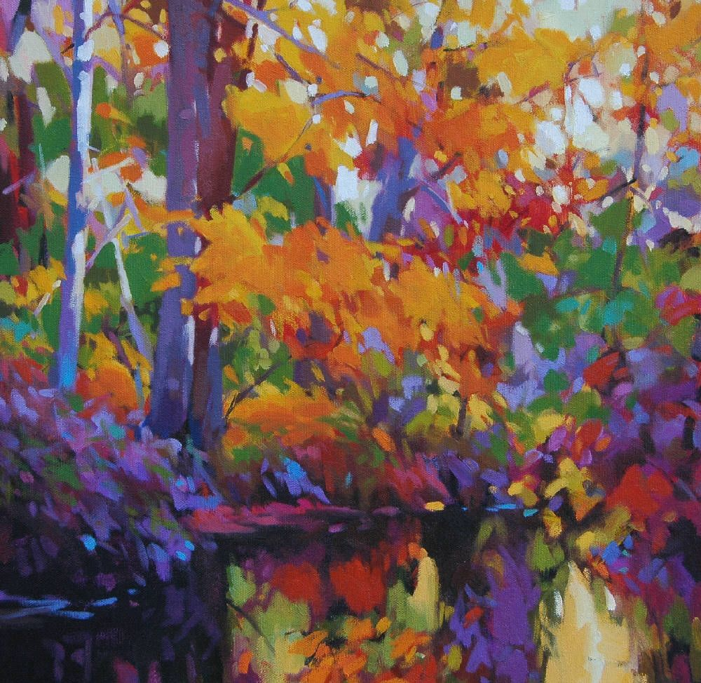 Mike Svob  A Reflective Forest