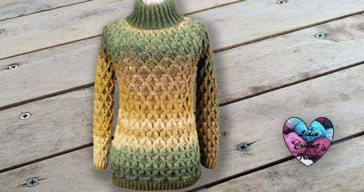 Concours Pull Câlin Crochet Toutes Tailles Lidia Crochet
