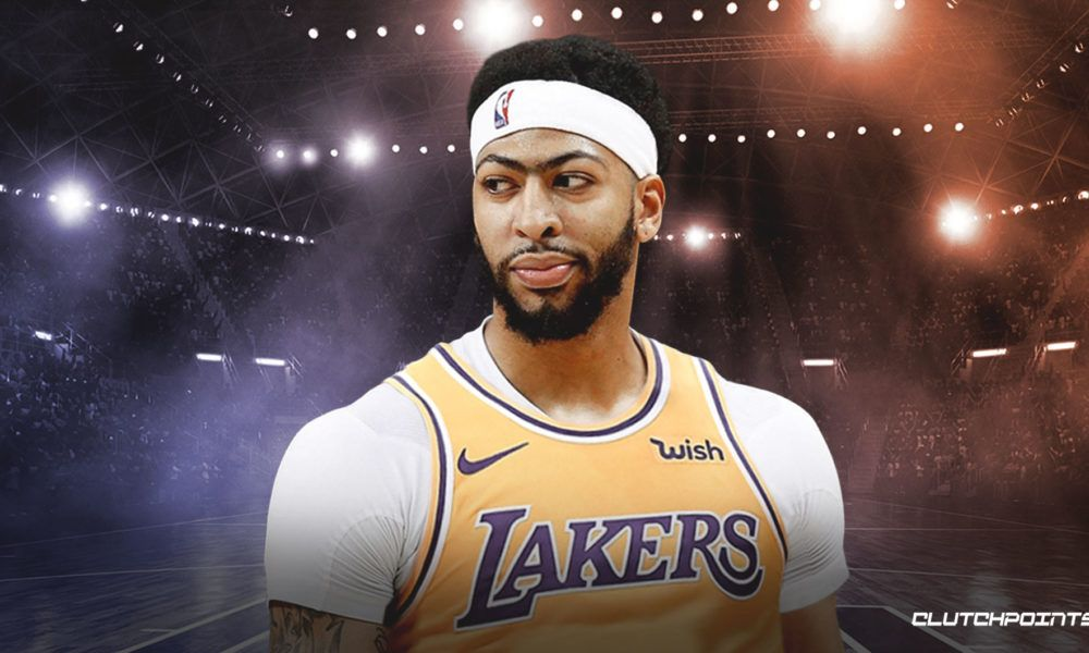 Anthony Davis Admits He Is Scared Of The Dark Anthony Davis La Lakers Lakers