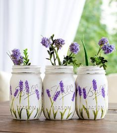 Красивые идеи декупажа стеклянных банок
