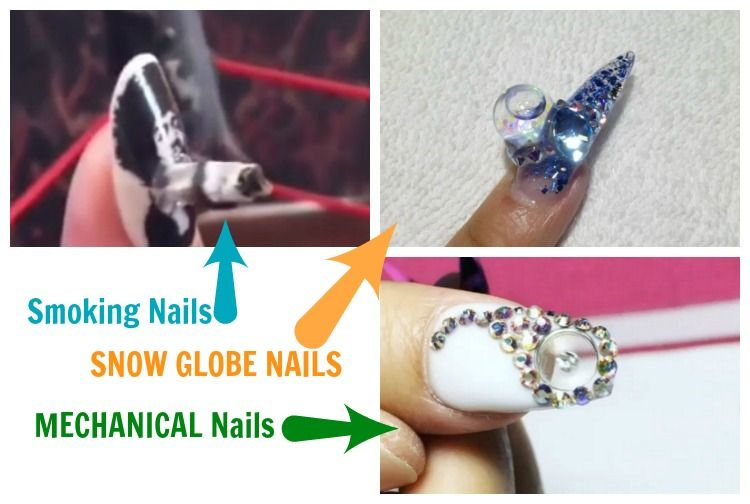 Unusual Nail Art 8 Instagram Videos And You Thought Your Nail Art