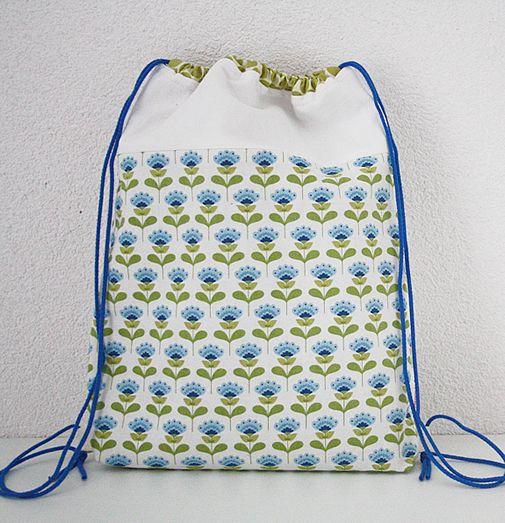 Diy Backpack Drawstring Bag Tutorial Diydrywalls Org