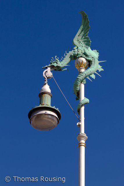 Dragonlight Street Lamp Lamp Post Street Light