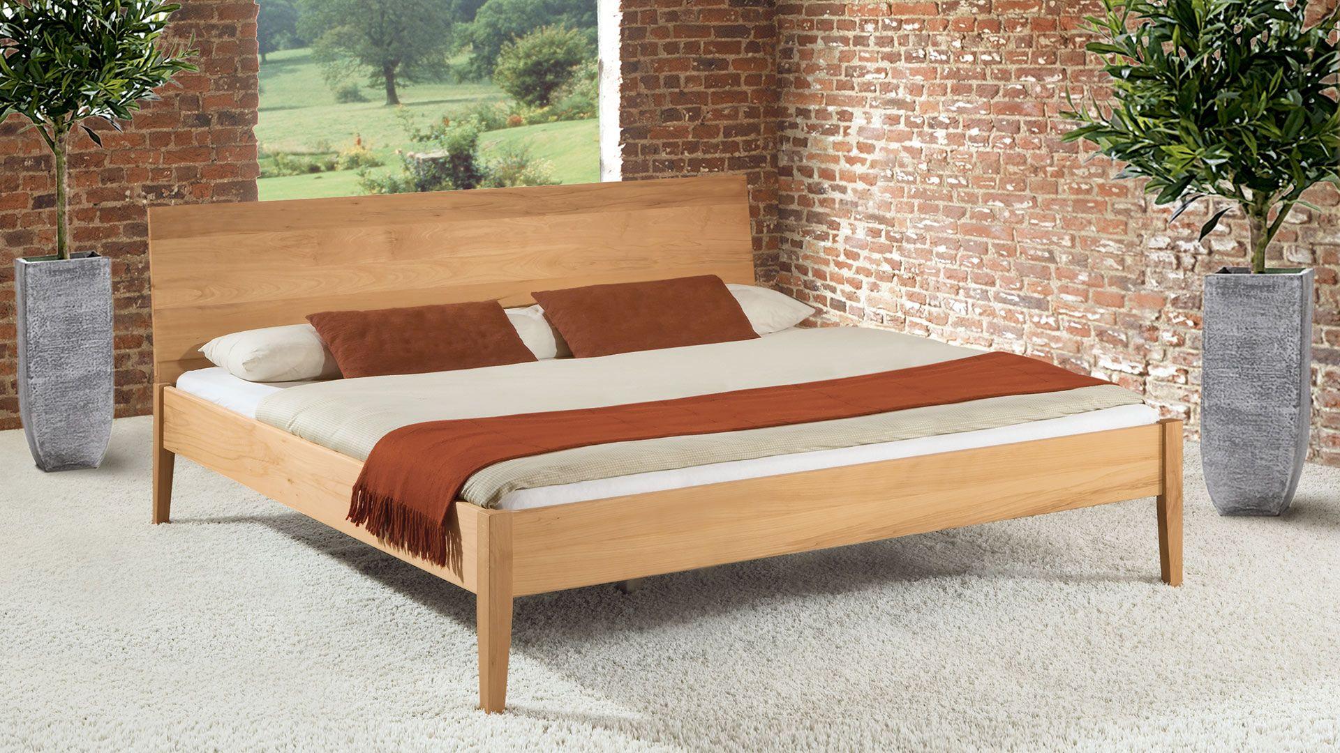 Massivholzbett Ravenna Elegantes Modell Mit 8 Kopfteil Varianten Bett Massivholzbett Haus