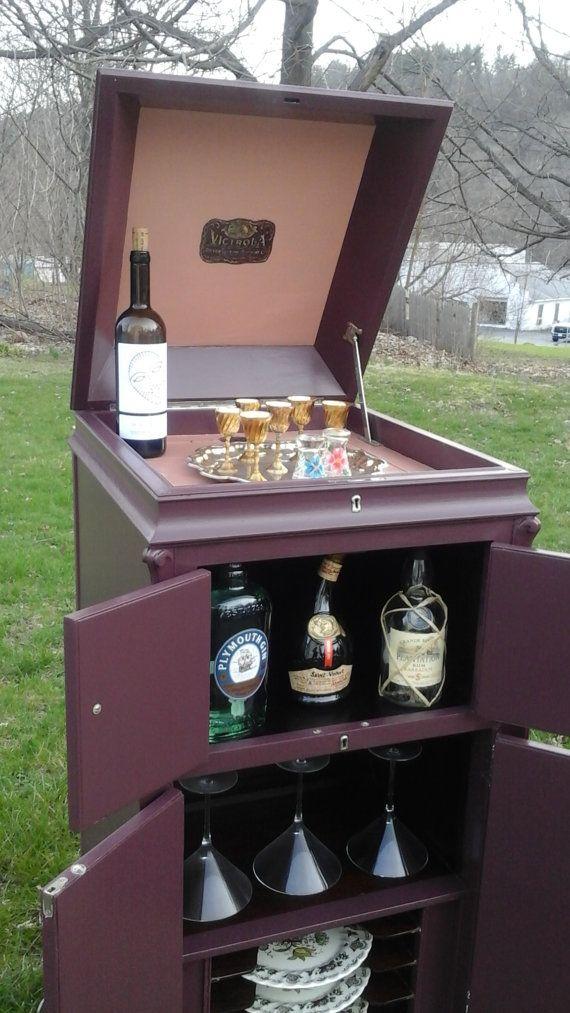 Victrola Bar Cabinet Victrola Cabinet Storage Cabinet