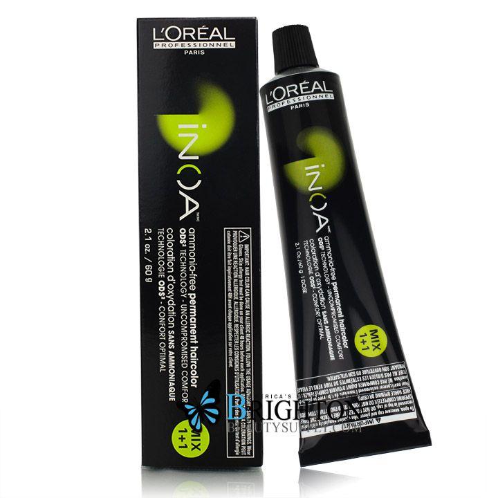 Loreal Inoa No Ammonia No Odor The Hair Color Of The Future