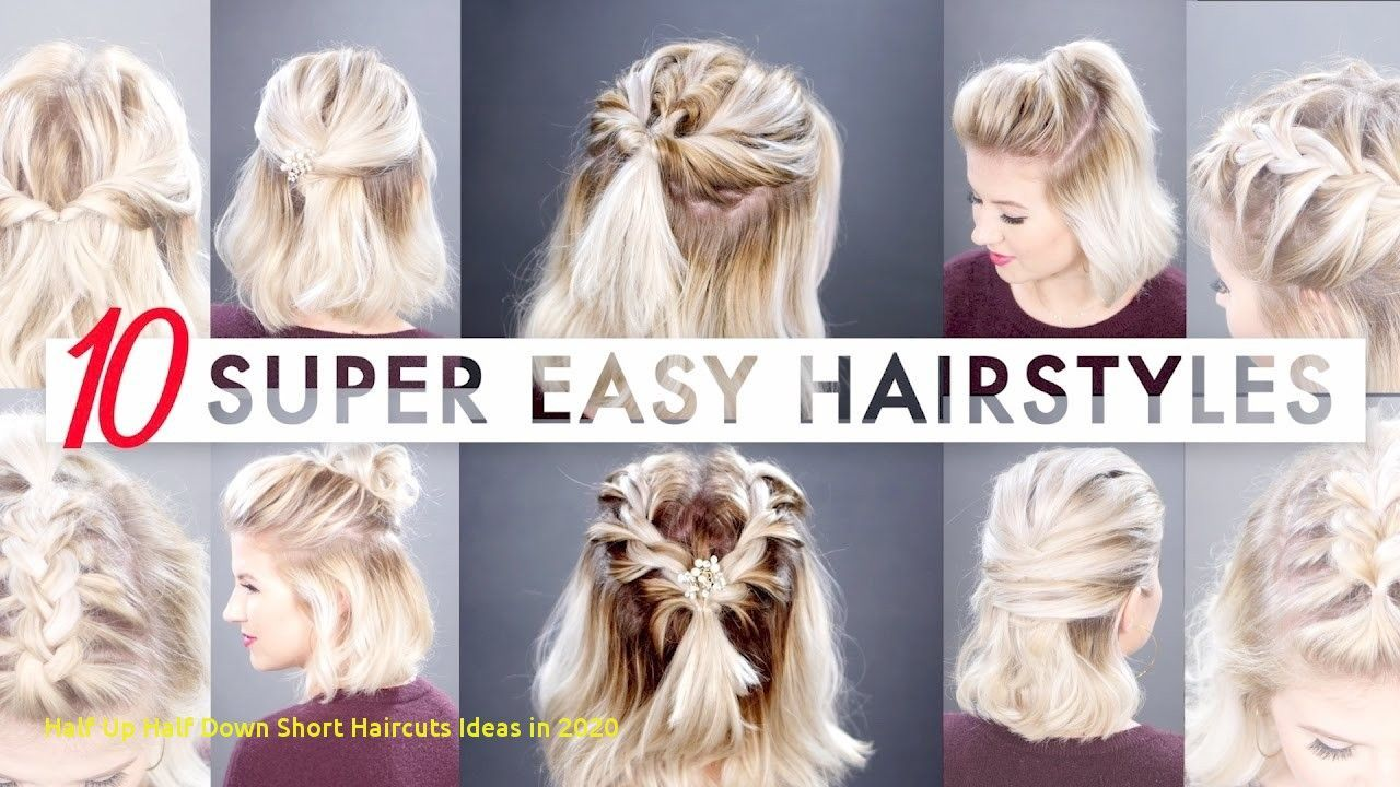 Beautiful Hairstyle For Short Hair To Do At Home In 2020 Short Hair Styles Easy Easy Hairstyles Medium Hair Styles