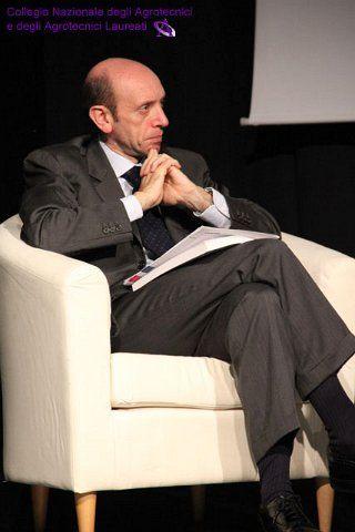 Il Presidente dell'INPS Antonio Mastrapasqua.