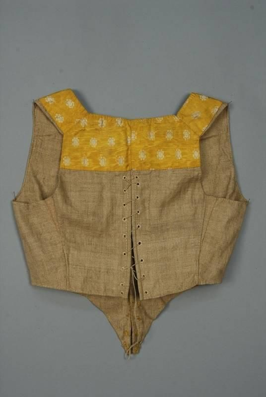 SILK JACKET and VEST ENSEMBLE, AMERICAN or EUROPEAN, 18th C. - Price Estimate: $300 - $500