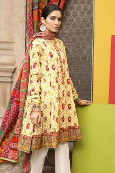 3f97cc7317 Khaadi Latest Summer Lawn Dresses Designs Collection 2017-2018