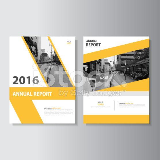 Vector Leaflet Brochure Flyer template A4 size design, annual report - leaflet template