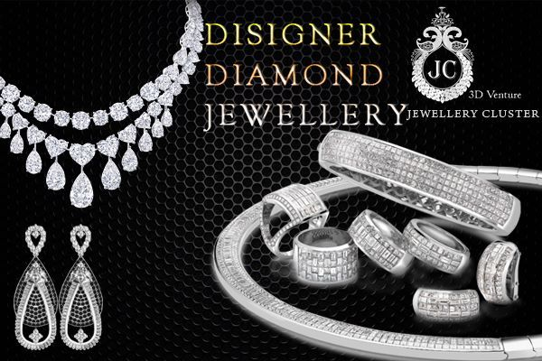 Jewellery Cluster offer latest design collection of Diamond necklace, CZ jewellery, South Indian jewellery,diamond rings and diamond jewellery design in Bangalore.