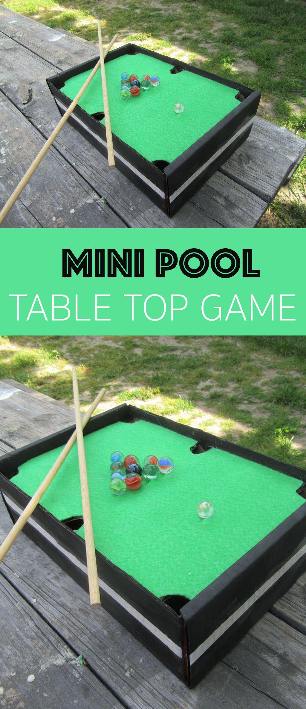 Mini Pool Table Top Game Mini pool, Diy pool table, Pool
