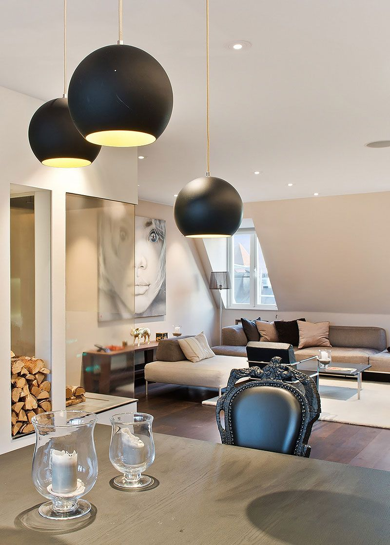 Scandinavian Design a Loft Apartment Near Humlegarden