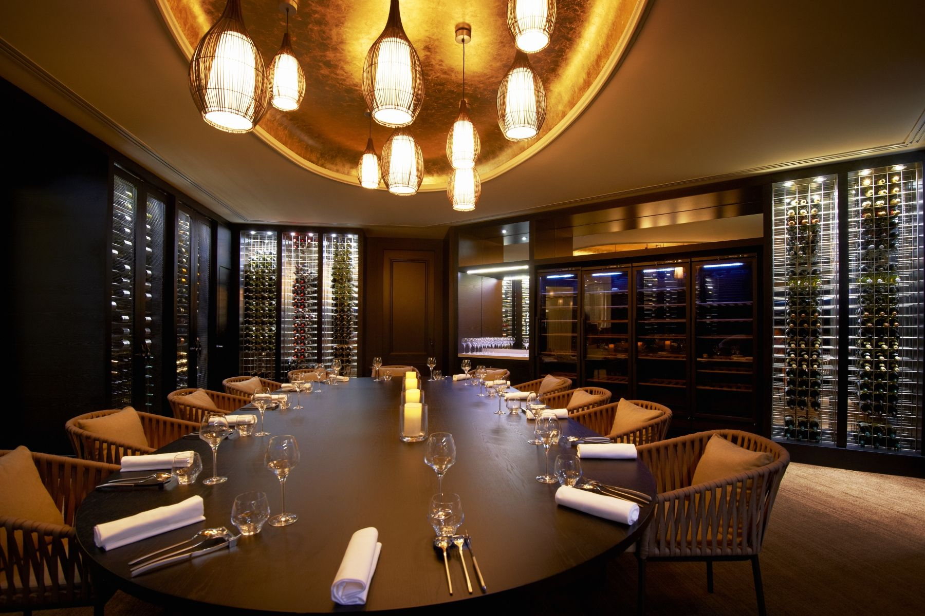Fontaine S Private Dining Room Restaurant Luxury Decoration