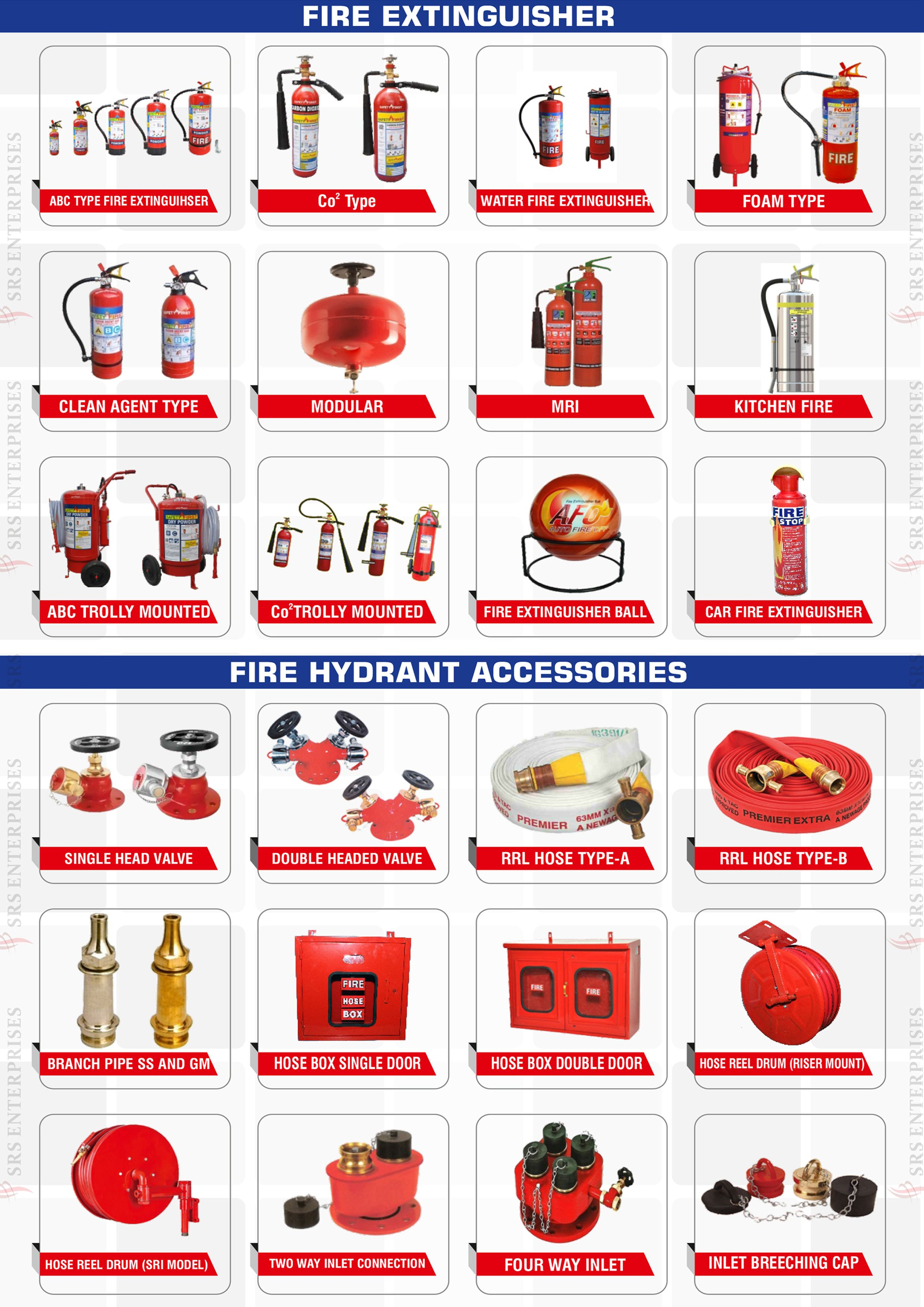 Srs Enterprises Fire Extinguisher Fire Hydrant System Smoke Fire Detection System Safety Su In 2020 Fire Safety Training Fire Safety Tips Fire Extinguisher
