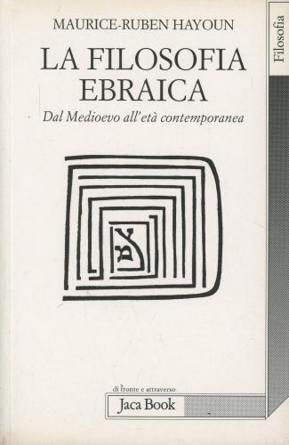 La #filosofia ebraica hayoun maurice-ruben edizione Jaca book  ad Euro 7.20 in #Jaca book #Libri