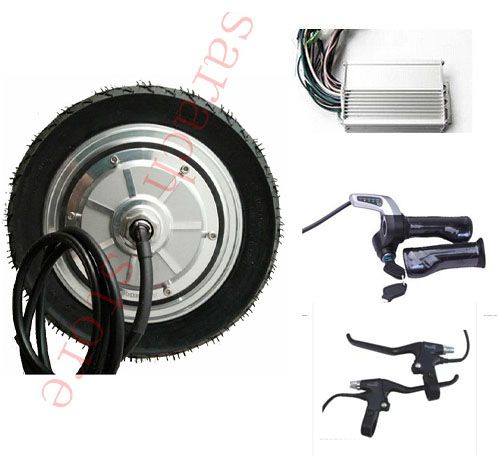 9 inch 500w 48v electric wheel hub motor electric for 500w hub motor kit