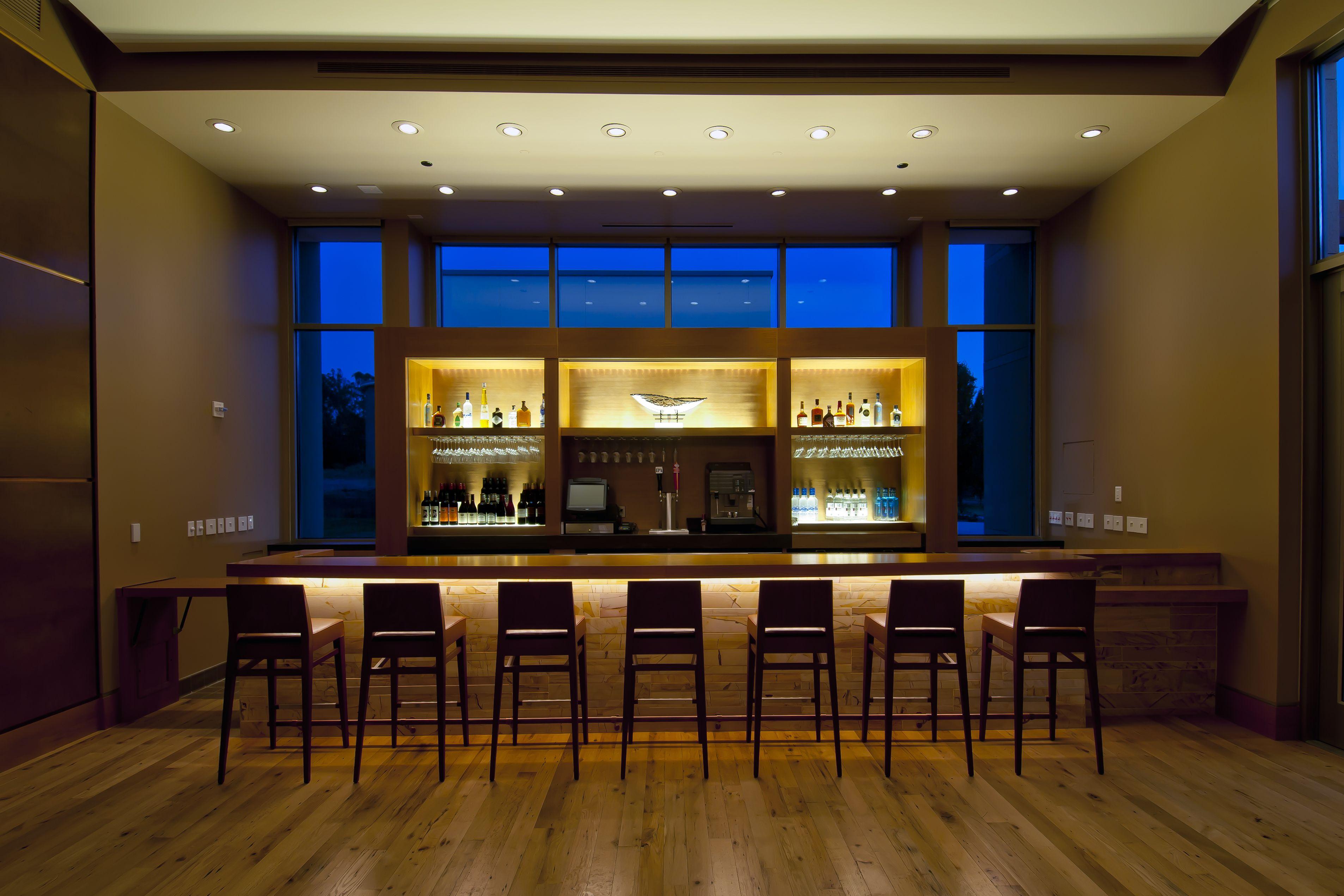 The Bar Inside Prelude Music Centers Sonoma State Design