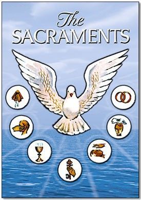 Pix For > 7 Sacraments Symbols Of The Catholic Church | Projects ...