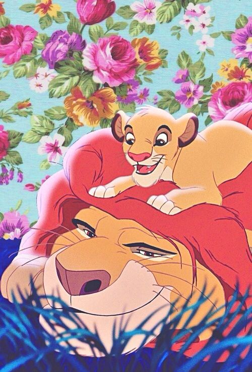 Lion King Mufasa Simba Wallpaper IPhone Floral