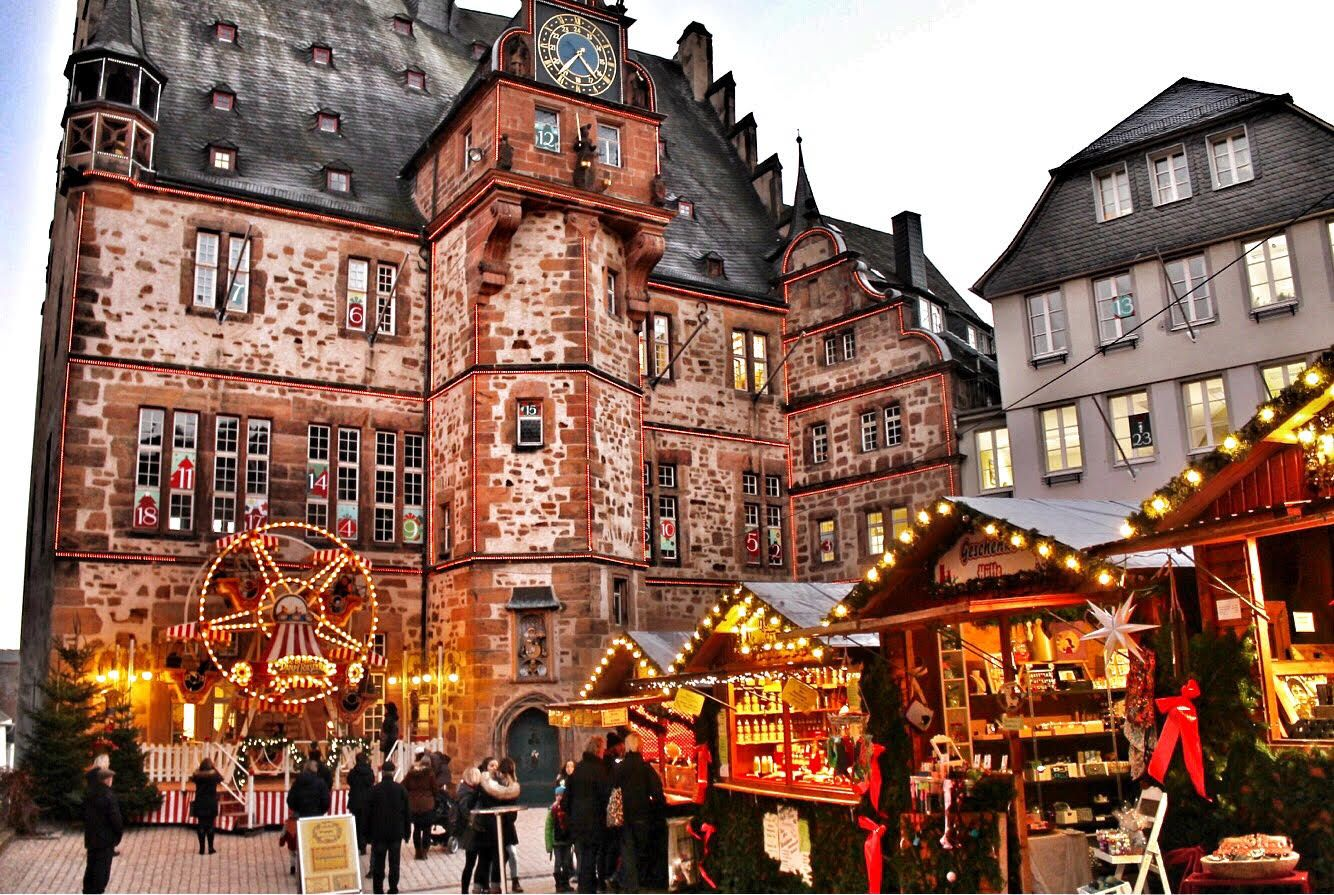 Christmas Market In Germany.Marburg Underrated Christmas Markets In Germany Marburg