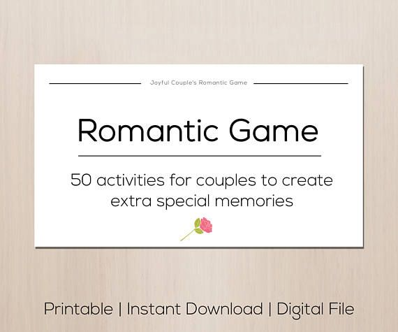 Romantic game gift for boyfriend mothers day gift sexy printable romantic game gift for boyfriend easter gift idea sexy negle Images