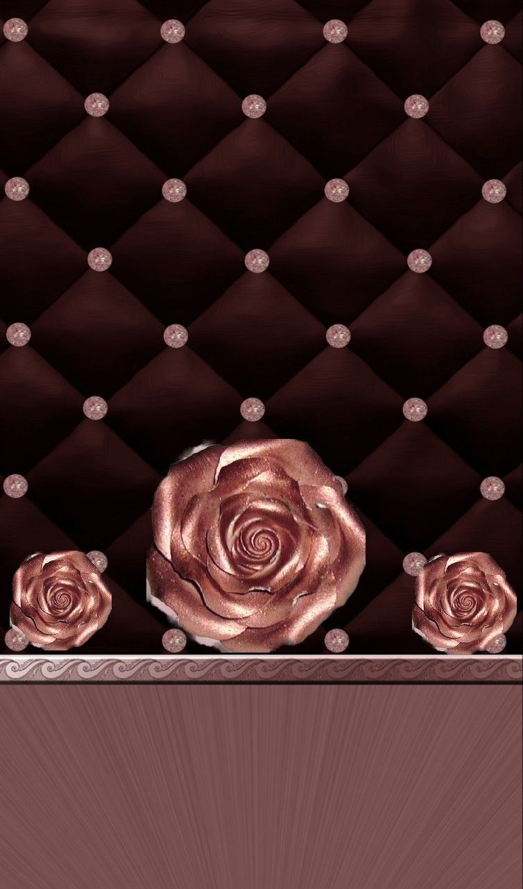 Black And Rose Gold Created By Moi Rose Gold Wallpaper Locked