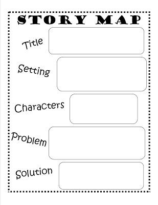 gingerbread man story map template - free story map printable pinteres