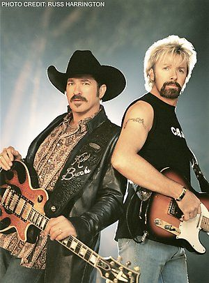 Brooks & Dunn - Great music!  Too bad they're not together anymore.