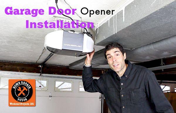 Strategies For Garage Door Opener Installation Garage Door Opener