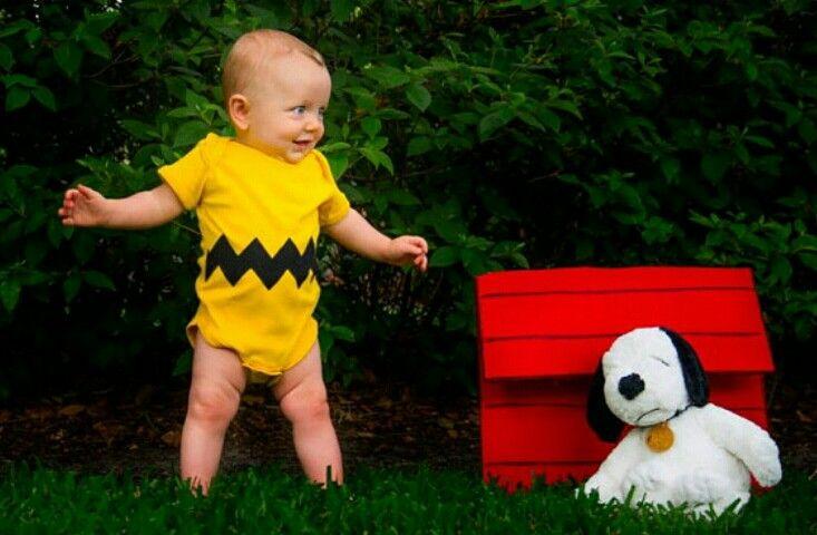 Charlie Brown onesie