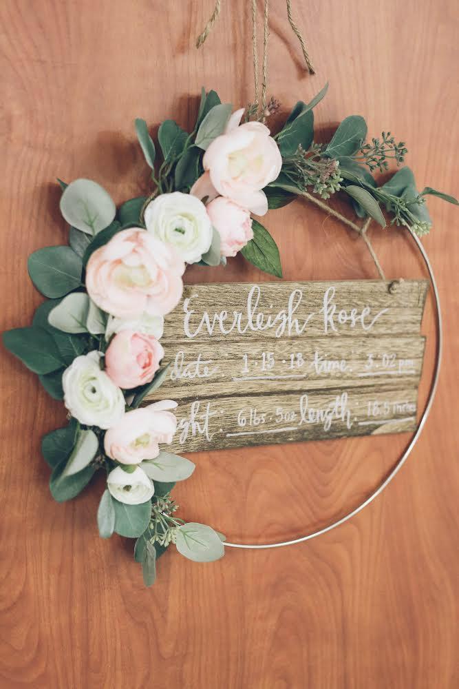 Simple Flower Wreath
