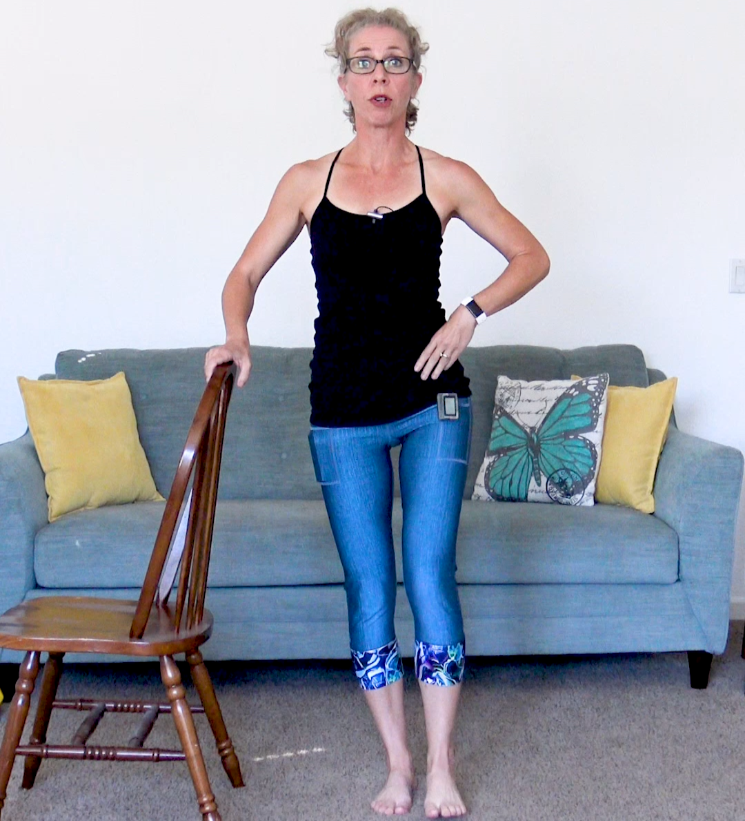 35 Minute SQUAT FREE Lower Body Workout for Women over 50