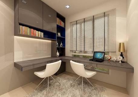 Resultado de imagem para singapore modern study room design Wall