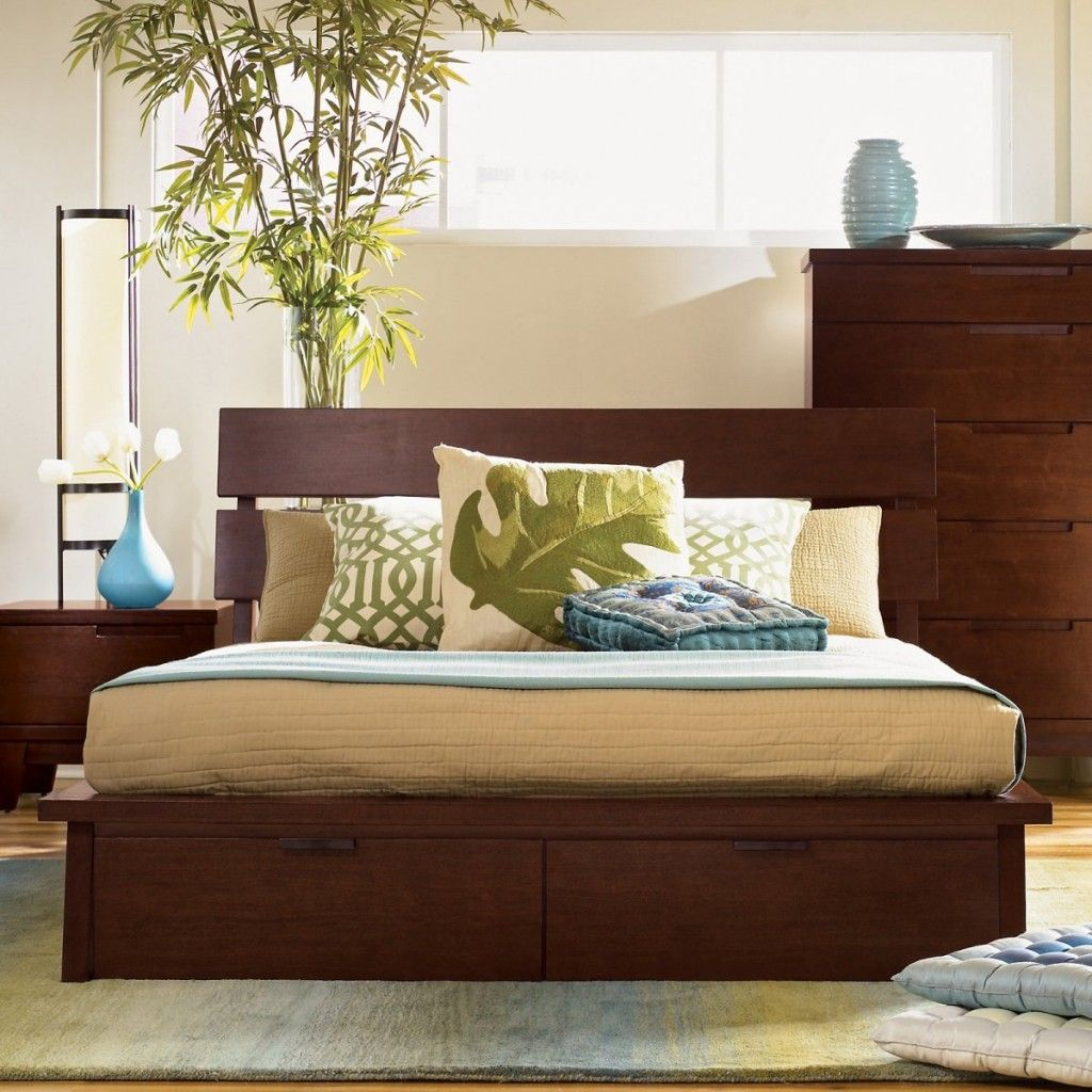 king size beds the great hiro storage bed with drawers hiro king rh pinterest ca