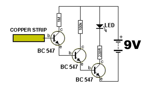 voltage detector schematic