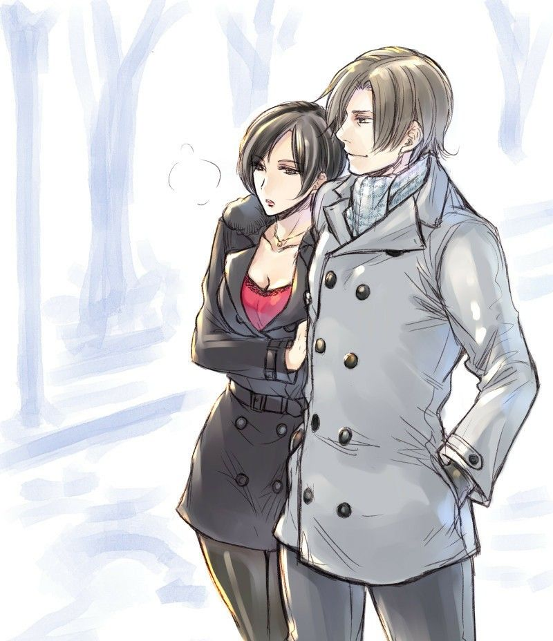 Pin by Rosé on Leon and Claire | Resident evil leon