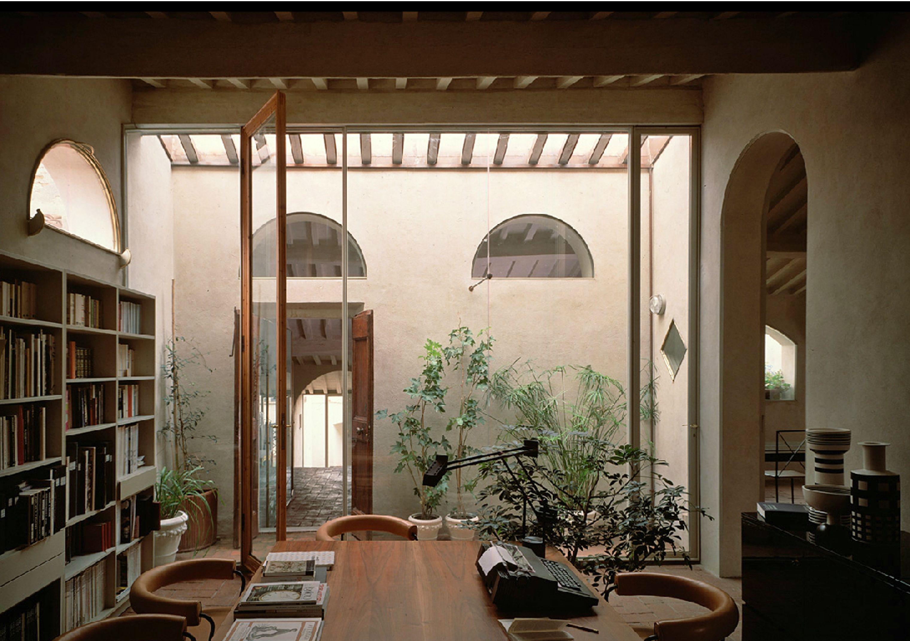 Massimo carmassi architetto casa montanari pisa house for Architetto per interni