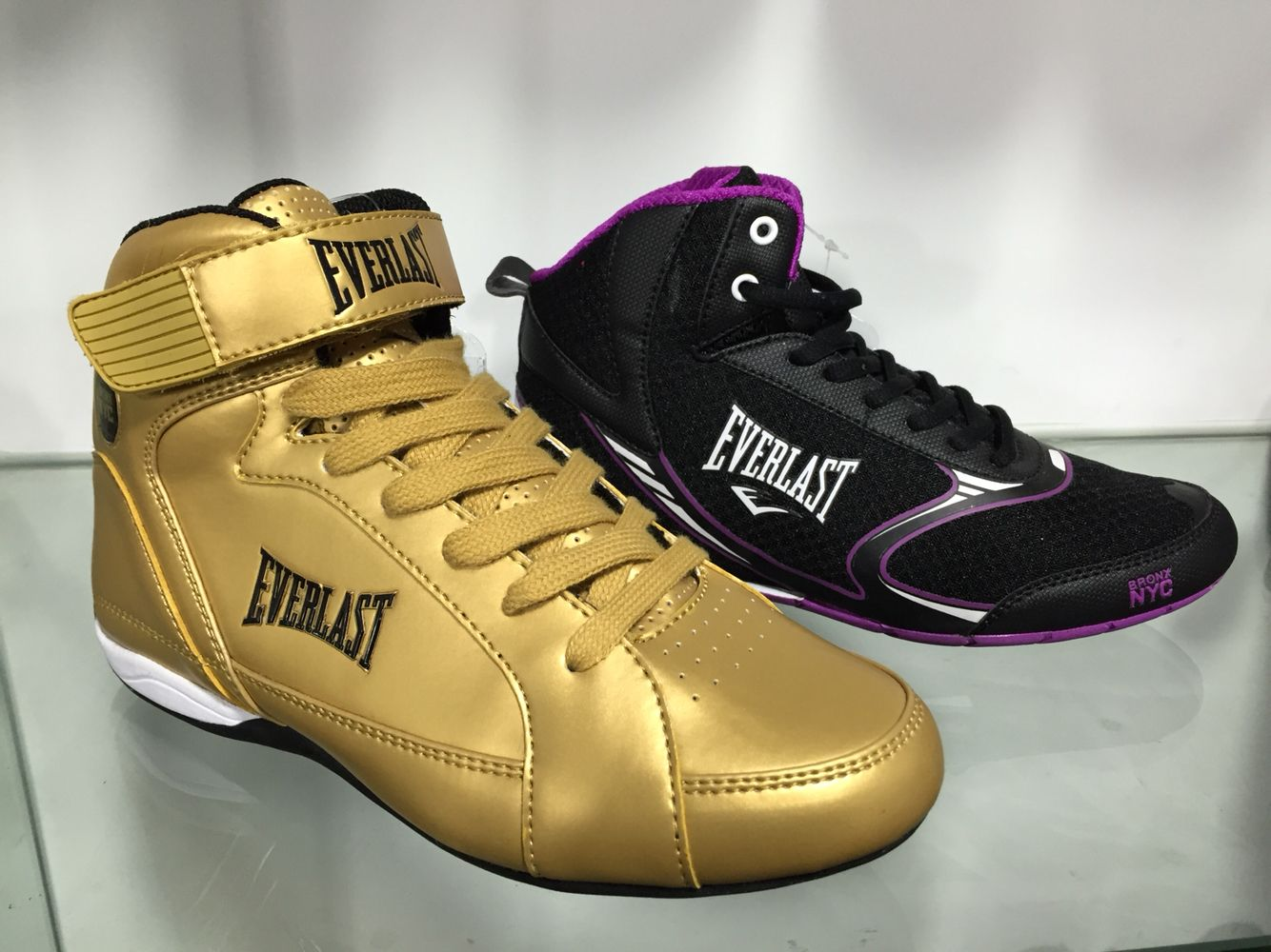 Everlast Boxing Shoes! Design by Oficinaviva