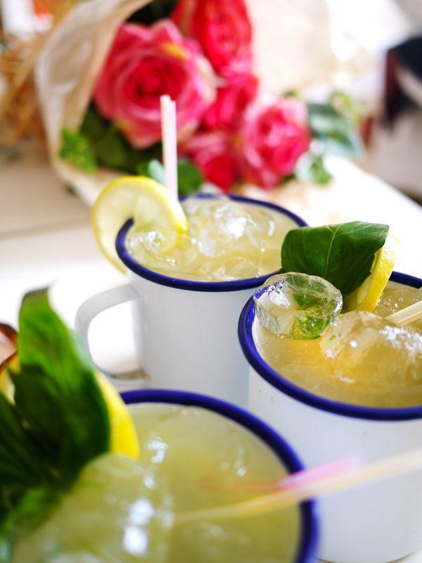 Basil Lemonade Grenades #basillemonade